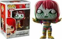 Asuka Green Mask WWE Funko Pop Vinyl New in Mint Box + Protector
