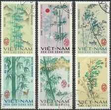 Timbres Flore Viet Nam du Nord 527/32 o lot 13042