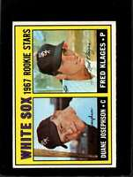 1967 TOPPS #373 DUANE JOSEPHSON/FRED KLAGES EXMT RC WHITE SOX ROOKIES *XR11120