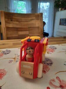 Brio Holz Feuerwehrauto mit Licht