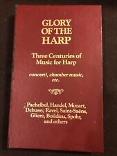 Vintage Glory Of The Harp Music Cassette Tapes Complete Set Collectible Music