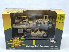 1/64 Ertl Caterpillar Construction Set Dozer / Wheel Loader / Scraper