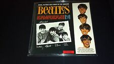 THE BEATLES SONGS PICTURES STORIES STEREO  Rare Red Sticker Vee Jay vj