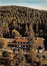 BG2319 waldhotel fischkultur  hotel baden baden restaurant CPSM 14x9.5cm germany