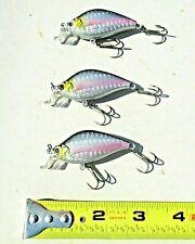 "3ct SEXY SHINER 2.5"" CountDown 1/3oz CRANKBAIT Bass Fishing Baits Walleye Lures"