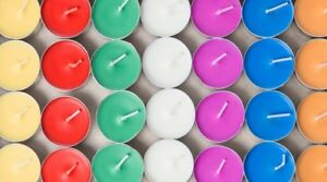 Scented or Plain Tea Lights - Candles - T Lights - Small Candles - Tealights Wax