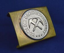GERMAN WWII PARAMILITARY ORGANIZATION BELT BUCKLE THIRD REICHT ORIGINAL RARE