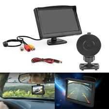 5 Inch 2IN1 HD Screen Monitor for Car Rearview Reverse Backup Parking Camera A3