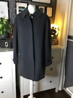 Jacket 14 Boxy Wool Coat Artisan Charcoal Grey Stunning Scandinavian Blogger