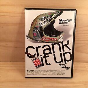CRANK IT UP! Mountain Biking Sports Action Adventure DVD Movie Film (R4)