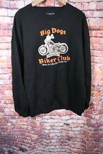 Big Dogs Biker Club Sweatshirt Size L Ride It Like You Stole It Black