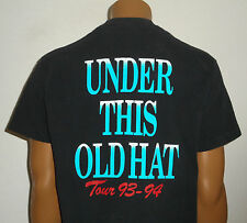 Vtg 90s 1993 CHRIS LeDOUX Concert T-Shirt * UNDER THIS OLD HAT * Country USA XL