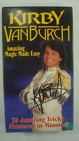 Kirby VanBurch Amazing Magic Made Easy VHS Signed 25 Tricks Vol 1