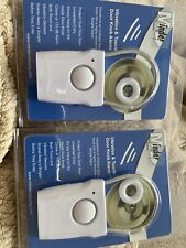 2 X MINDER Safety And Security Products VIBRATION & TOUCH DOOR KNOB ALARM....