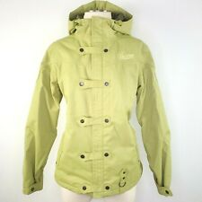 Burton Jacket Ski Snowboard Womens L Olive Green Snow Sports Outdoors Insulated