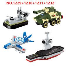 4 Set ENLIGHTEN Blocks DIY Kids Building Toys Puzzle Military Vehicle 1229-1232