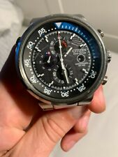 MENS USED CITIZEN ECO DRIVE WATCH MX1760
