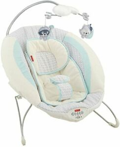 Moonlight Meadow Deluxe Baby Bouncer With 2 Plush Toys, Music and Nature Sounds