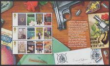 Gran Bretaña - 2008 'James Bond' descosido folleto panel-Um/estampillada sin montar o nunca montada **