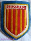 BG5859 - PATCH ECUSSON TISSU BLASON PROVINCE DU ROUSSILLON