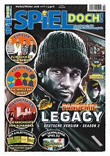 SPIEL DOCH! Magazin 2/18 inkl. Erweiterungen f. Carcassonne + Carcassonne Safari