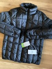Snow Peak Japan Recycled Middle Down Jacket - Men's Small ~ $345.00 AE119 Black