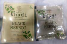 Khadi Herbal Gramodaya Ayurveda Black Mehandi To Make The Hair Natural- 20 Gram
