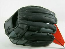 "Nike MVP Edge 11.5"" Youth Baseball Glove Black/Grey Right Hand"