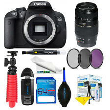Canon EOS 750D Tamron AF 70-300mm f/4-5.6 Di LD Lens+Expo Essentials Kit
