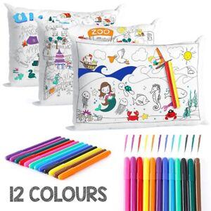 Pillowcase Cover Childrens Kids Boys Girls Pillow Case Bedding (50x70cm)