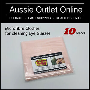 10 pcs Microfibre Clothes Cleaner for Eye Glasses Sunglasses  - Aussie Outlet