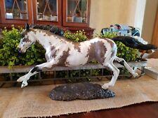 custom horse resin (Terminator)