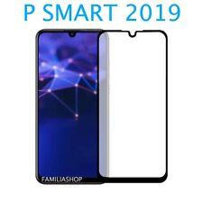 Film de protection intégrale en verre trempé noir pour Huawei P SMART 2019
