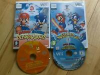Mario & Sonic at the Olympic Summer & Winter Games Nintendo Wii 45x events