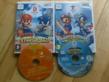 Mario & Sonic at the Olympic Verano & Winter Games Nintendo Wii 45x events