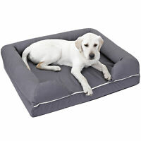"36"" x 28"" Dog Bed Orthopedic Memory Foam Skin Contact Safe Pillow Waterproof"