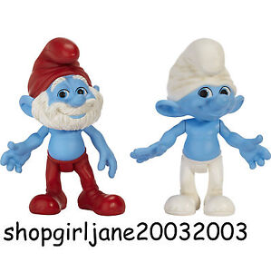 Papa Smurf & Clumsy Movie Grab 'Ems 2 Pack - BNIP