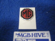 BRAND NEW MGB/MIDGET MG OCTAGON SELF ADHESIVE STEERING WHEEL/GEARKNOB BADGE ZA34