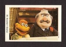The Muppet Show Jim Henson Vintage 1978 Card from Sweden #56 Scooter