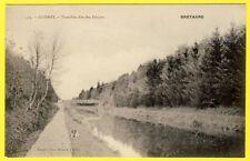 cpa 22 - GLOMEL (Côte d'Armor) TRANCHÉE dite des FORÇATS Canal de NANTES à BREST