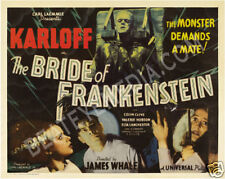 BRIDE OF FRANKENSTEIN MOVIE POSTER PRINT-HORROR,KARLOFF
