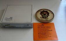 Vtg Goebel Hummel Collectors' Plaque- 1978 Special Edition #2- 690 -original box