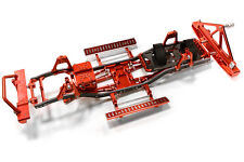C26937RED Composite Ladder Frame Chassis Kit w/Hop-up Combo for SCX-10, Jeep
