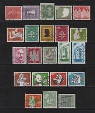 Gestempelte Briefmarken aus der BRD (ab 1948) Sammlungen