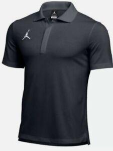 Jordan Statement Polo Shirt Men's Large Grey  CD2216-060 NWTs