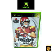 EA Games NCAA Football  (2004)  Microsoft Xbox Game Case Manual Tested Works