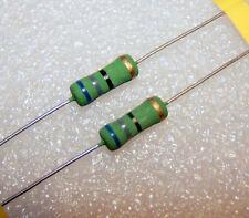 68 Ohm 2W 5% Resistenze a filo avvolto Welwyn TTelectronics CCW-2 series 2 pezzi