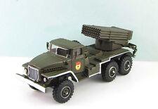 IXO Fabbri 1/72 MILITAIRE TANK CHAR RUSSE CAMION URAL 375D BM-21 Grad MLRS