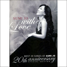 SUMI JO - With Love: Best 20 Songs 2CD SEALED KOREA NEW