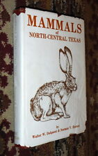 Mammals North Central Texas,Dalquest,Horner,VG-/POOR,HB,1984,First  b15